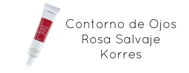 Hoy os recomiendo el contorno de ojos Rosa Salvaje de Korres, que llevo usando durante meses con muy buen resultado. Contorno luminoso e hidratado con SPF 15.