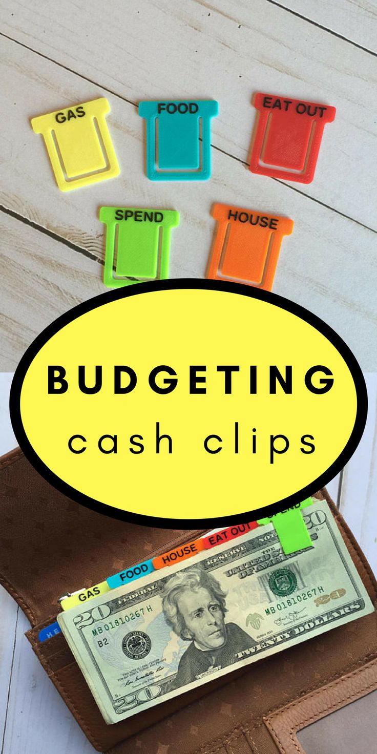 Cash Clips | Money Clips | Inspired by Dave Ramsey Baby Steps #afflink