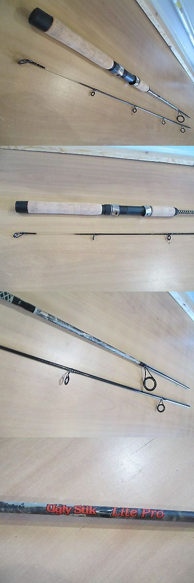 Spinning Rods 36150: Shakespeare Ugly Stik Lite Pro Camo 6 Foot 6 Inch 2 Piece Spinning Rod -> BUY IT NOW ONLY: $34.99 on eBay!