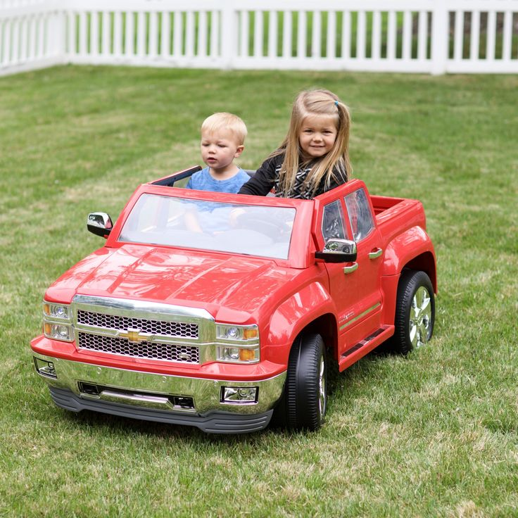 Rollplay 12 Volt Chevy Silverado Battery Powered Ride-On Vehicle - W461-C04