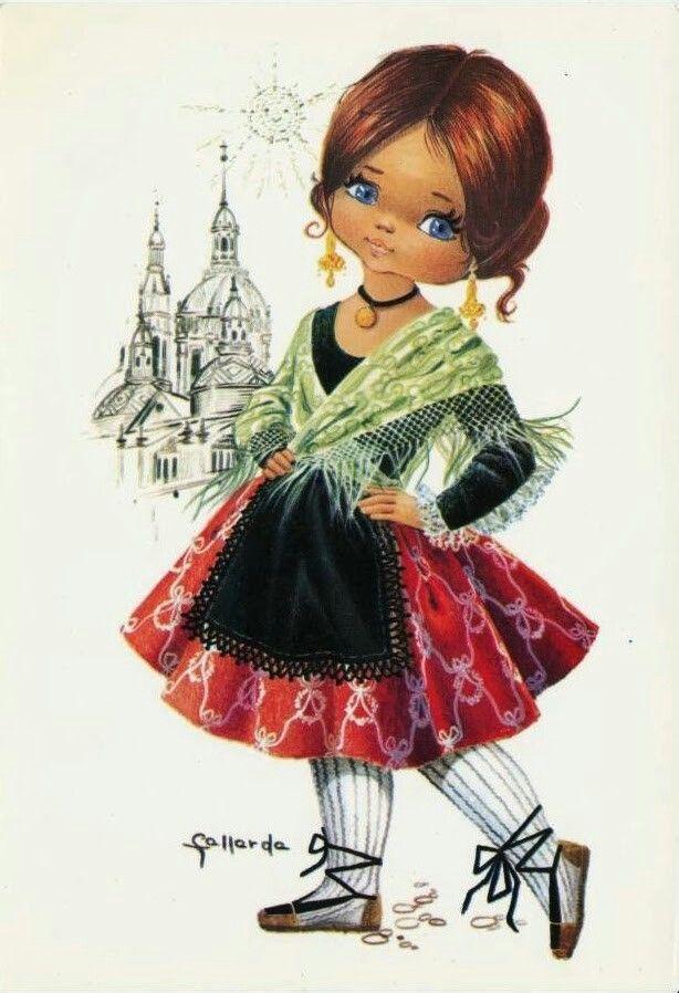 Крутые братва, открытка куколка
