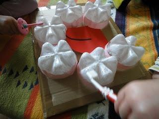 Nathalie Assistante Maternelle: le brossage des dents