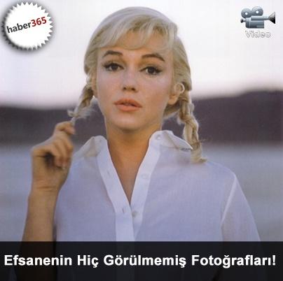 Marilyn Monroe'nun Hiç Görülmemiş Fotoğrafları!