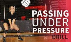 Passing drill for reading hitters