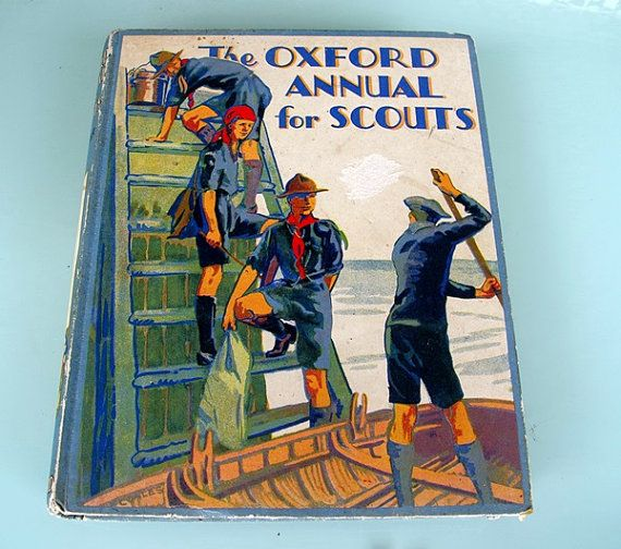 The Oxford annual for Scouts. Published in 1928