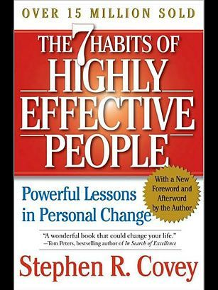 7 Habits for Highly Effective People  This book is one of the influential management books rated by the Times magazine. Read it and you will know why.