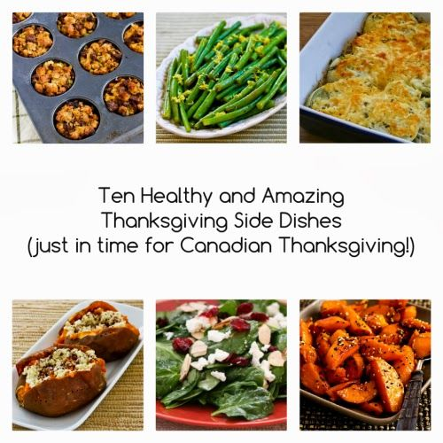 Ten Healthy and Amazing Thanksgiving Side Dishes (just in time for Canadian Thanksgiving!) [from Kalyn's Kitchen]