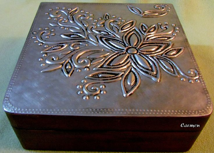 445 Best Embossing Metal Diy Images On Pinterest Embroidery Designs Embroidery