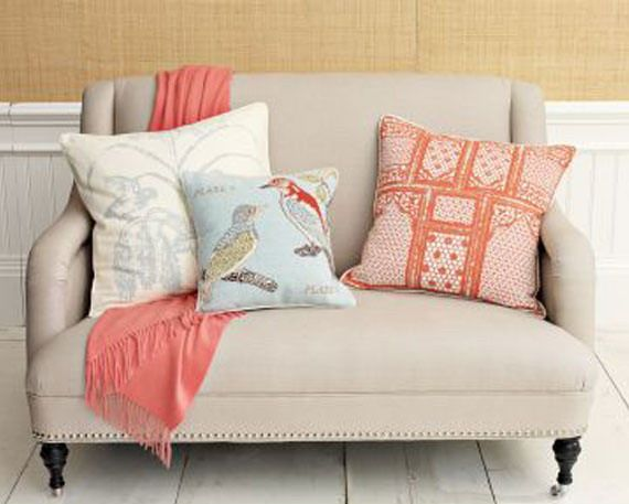 small loveseats | ... Home Look Contemporary yet Traditional with Small Spaces Loveseats