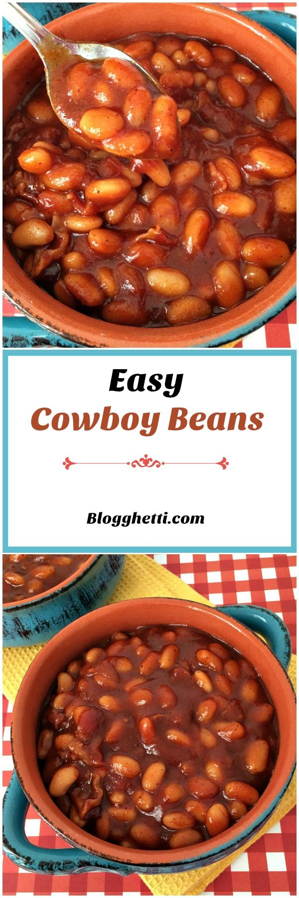These Cowboy Beans have a sweet and tangy taste to them thanks to the honey and…