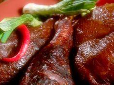 Smoked Turkey Legs recipe from BBQ with Bobby Flay via Food Network