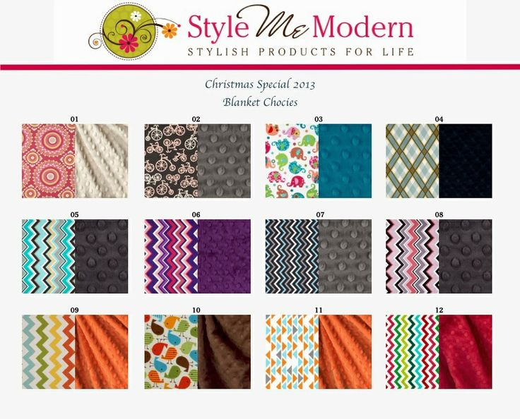 CHRISTMAS SPECIAL - 30% off baby blankets until nov. 22nd www.stylememodern.com