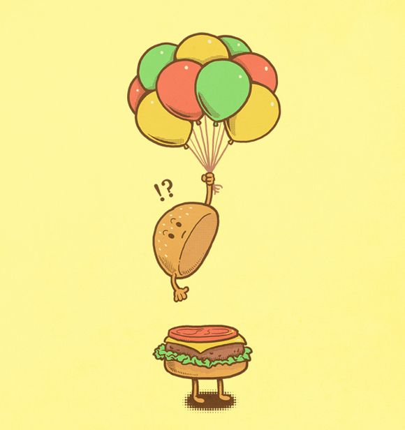 Flying Hamburger by ben6835, via Flickr