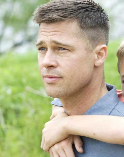 Brad Pitt Army Haircut