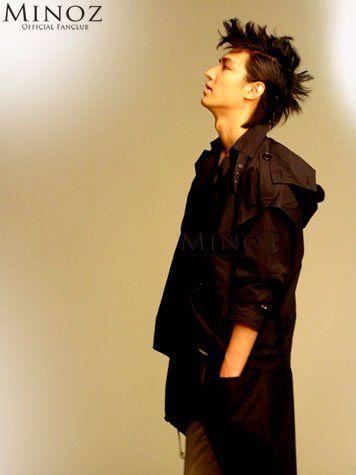 Lee Min Ho I love his hair like this.