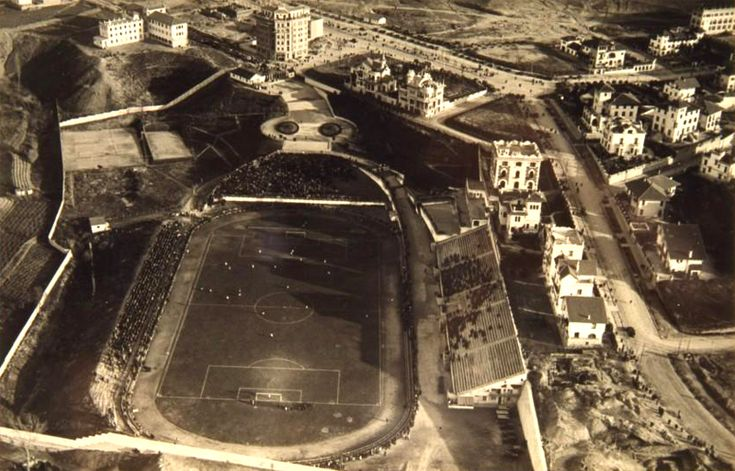 1929 Estadio Metropolitano, terreno de juego del Club Athletic de Madrid