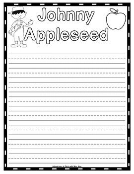 Free apple writing papers new teachers pinterest