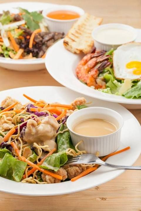 Have you taken lunch? Let's try this Crispy Oriental Chicken Salad for lunch at Hummingbird Eatery