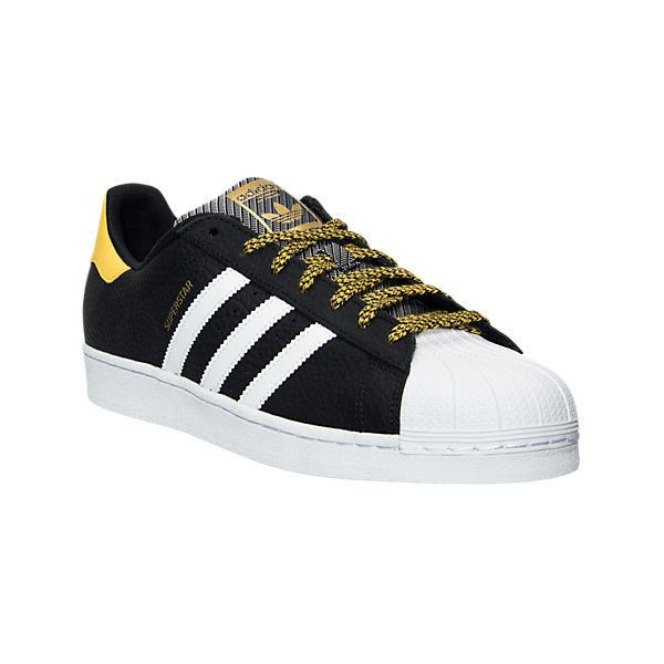 Adidas Men's Originals Superstar NFL Pack Casual Shoes, Black (€44) ❤ liked on Polyvore featuring men's fashion, men's shoes, men's sneakers, black, mens shoes, mens leather shoes, mens leather sneakers, mens black leather sneakers and adidas mens sneakers