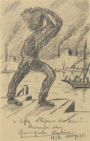 El puerto de la boca (1939)Benito Quinquela Martín