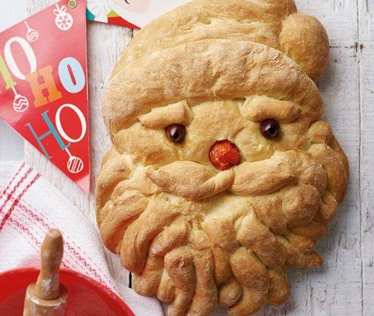 Santa bread | ASDA Recipes