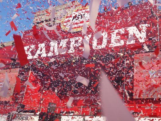 Behalve High tech hebben ze ook PSV! kampioensfeest PSV 19 april 2015 100.000 bezoekers