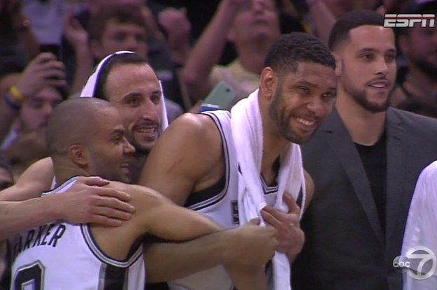 The Best Moments From The San Antonio Spurs NBA Championship