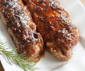 Superbe recette de Filets de porc à l'érable