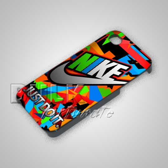 Nike Just Do It Colorful Triangle