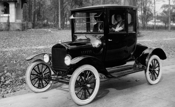 A reliable car the average american can afford, the first model t was sold for $850