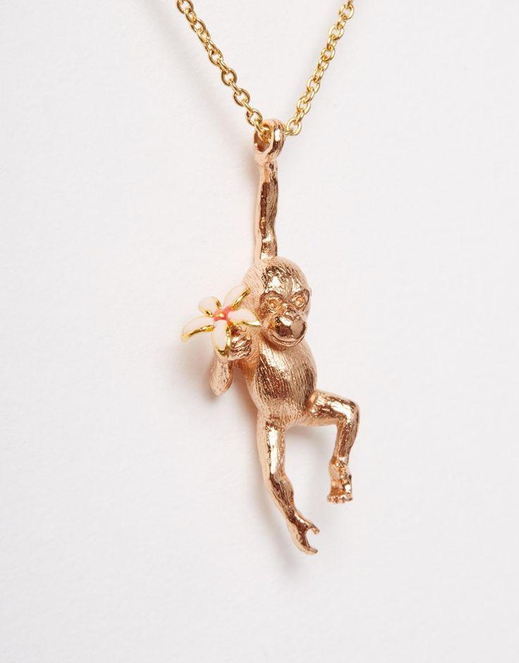 Image 2 ofBill Skinner Baby Orangutan Necklace