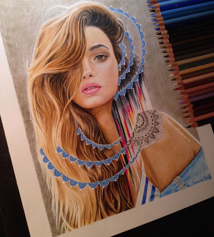 Finished my portrait of @inkawilliams. What do you guys think? Have a lovely weekend!
