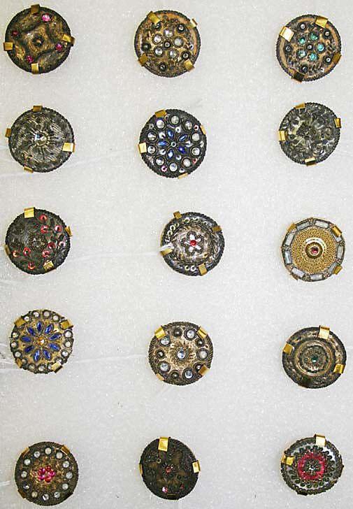 Button Date: ca. 1775 Culture: French Medium: passementerie