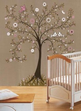 Tree mural. perfect for a Babies room