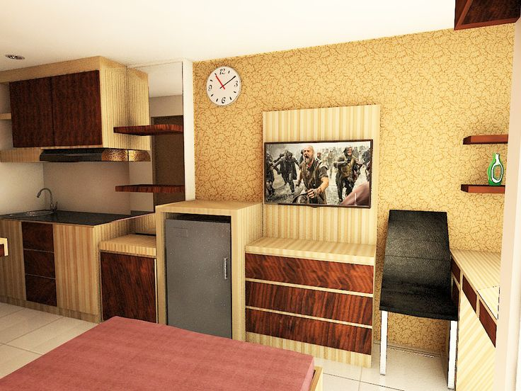 furnished design studio apatemen Bandung wet java