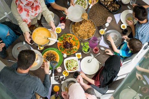 Family Dinner Can Be All Fun And Games In 2021 Family Dinner Diwali Food Family Dinner Table