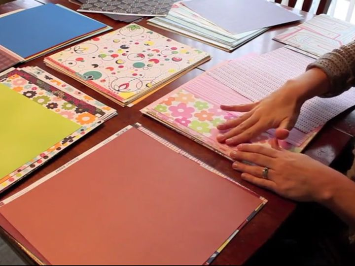 If you have been scrapbooking for a while and have a large paper stash, learn how to put together a paper kit that will not only save you time, but money too! Hmmm... this could be good.