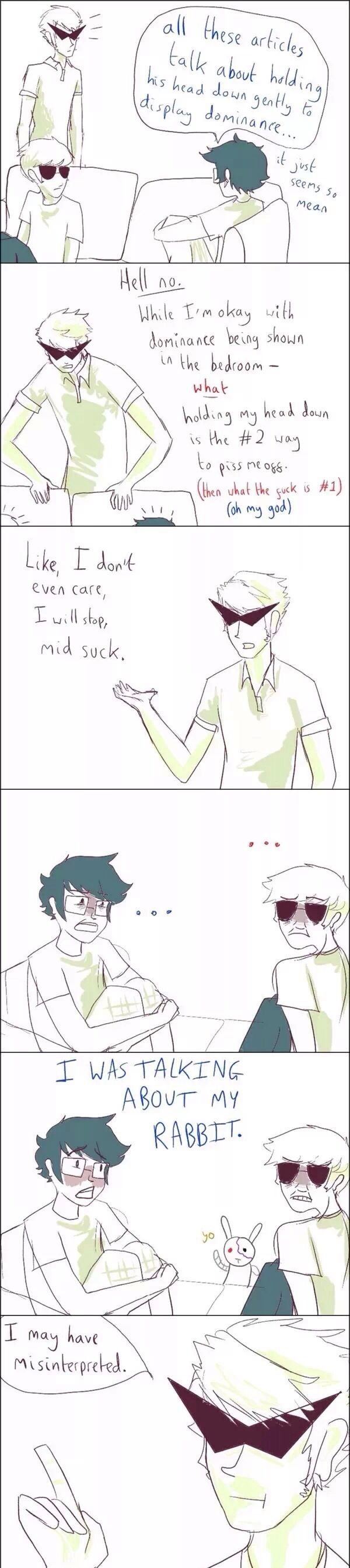 someone made that one tumblr post into a homestuck comic and i cna't breathe