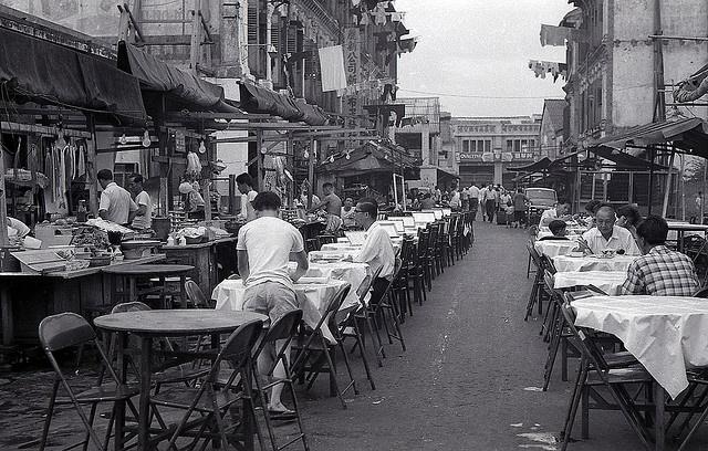 Bugis Street, Singapore, 1966.  THE LIBYAN  Esther Kofod  www.estherkofod.com