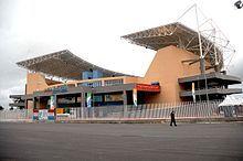 2016 Rio de Janeiro Olympics. Maria Lenk Aquatic Center, site of Diving and Water Polo