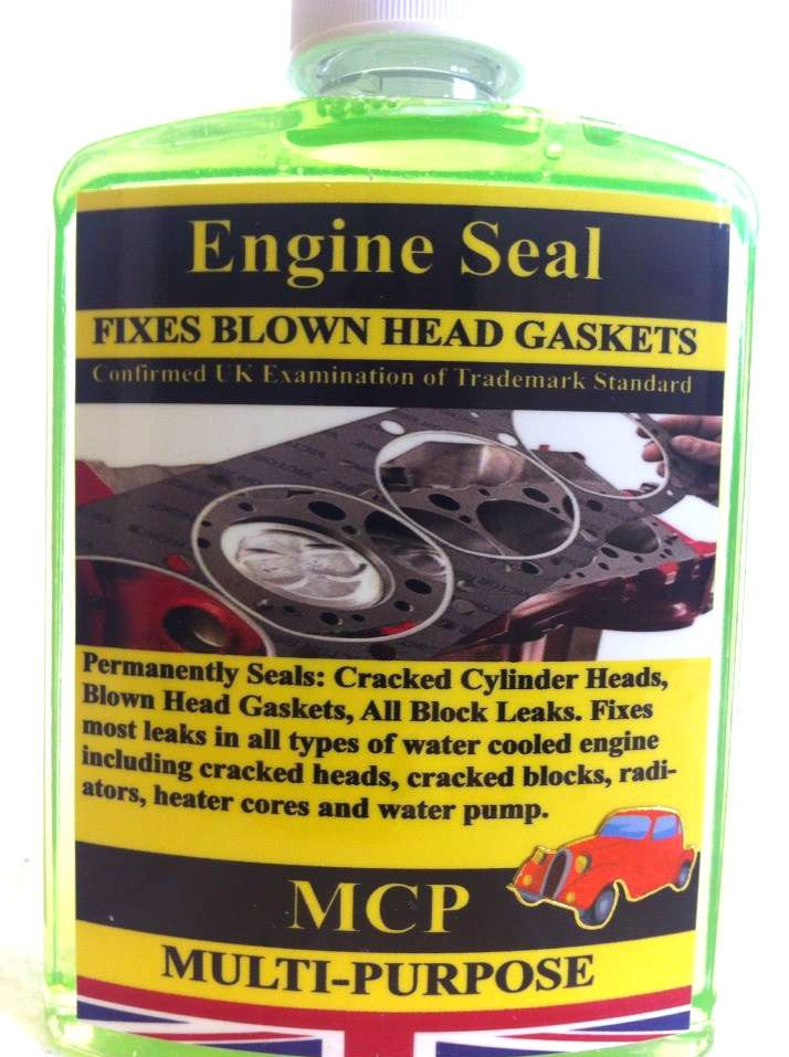 2x STEEL SEAL HEAD GASKET SEALER MCP,REPAIRS BLOWN HEAD GASKET&ENGINE BLOCKS,MCP