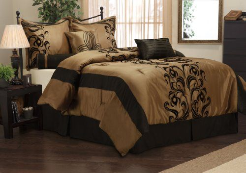 Nanshing America Helda 7-Piece Deluxe Luxury Comforter Set, California King