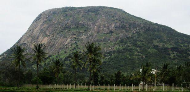 Nandi Hill in Bangalore