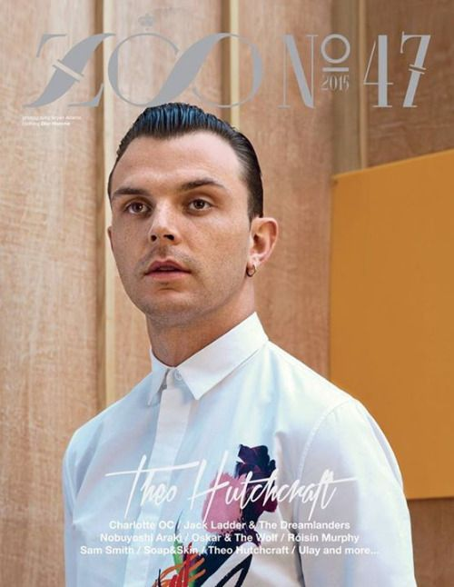 HURTS' Theo Hutchcraft in the Summer 2015 Issue of the Zoo Magazine.