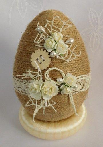 Piekne Jajko Pisanka Ozdoby Wielkanocne Rekodzielo 8857263519 Oficjalne Archiwum Allegro Easter Crafts Easter Egg Decorating Crafts