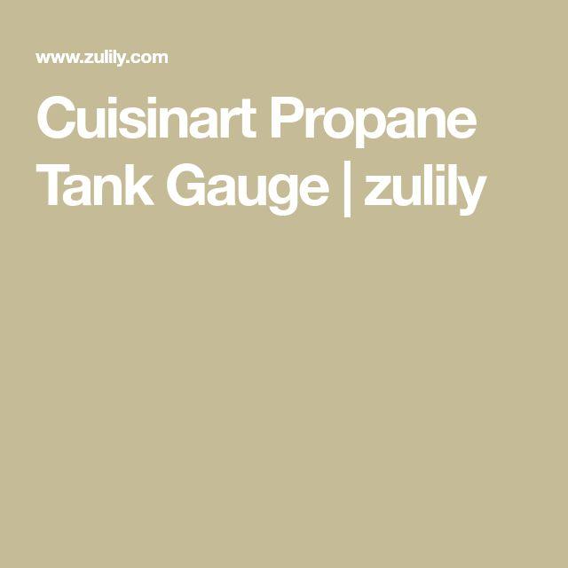Cuisinart Propane Tank Gauge | zulily