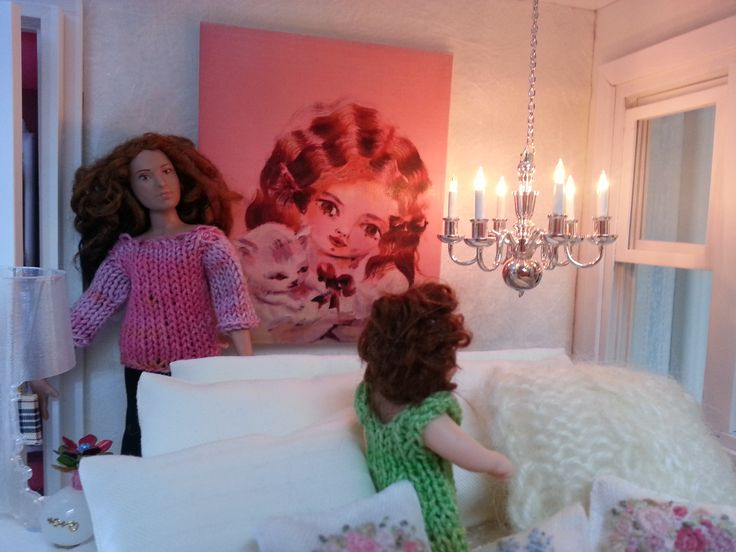 Rose in her bedroom, styled by Maija Pirinen