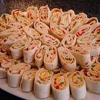 The Best Tortilla Pinwheels   Easy and Fast Recipes for Dinner
