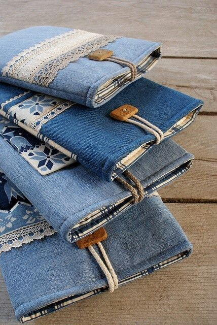 Old jeans to iPad cover