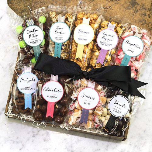 Give the gift of chocolate with this beautiful trunk full of gourmet, artisan chocolates and sweets. Personalize it with a free custom gift card and choose your delivery date.